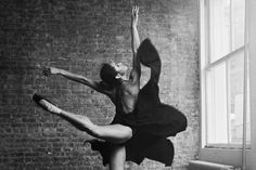 How Ballerina Misty Copeland Became A.B.T.'s First African-American Swan Queen {See Slideshow for More Photos From V.F.'s Shoot With Misty Copeland}