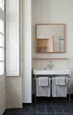 Simple bathroom.