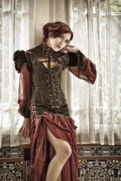 steampunk collection  The material on the shoulders is not very nice but the rest is good