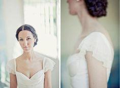 Las mangas de los vestidos, esos pequeños detalles #vestidos #novias