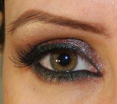 Blue-brown eyes
