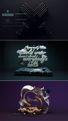 f5bcbc71a54526be95039e86a8452498.jpg 450×796 pixels - 3D Typography Design Modelling