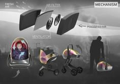 Air Shield Concept Baby Stroller 2