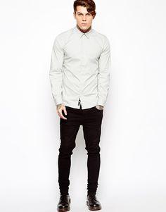 Dr Martens white shirt tumblr Style men