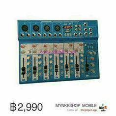 ขาย SUKE มิกเซอร์7ช่อง T7 USB MP3 ผสมสัญญาณเสียง เล่นเพลง MP3 มีช่อง USB SD CARD พร้อมจอ LED แสดงสถานะกา ในราคา ฿2,990 ซื้อได้ที่ Shopee ตอนนี้เลย!http://shopee.co.th/mynke.com/4339788  #ShopeeTH