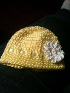 "newborn ""sunshine"" hat"