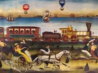 The race von Ralph Eugene Cahoon Jr.