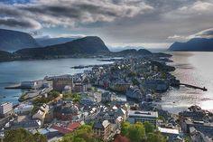 Alesund, Norway (HDR, EXPLORED!)