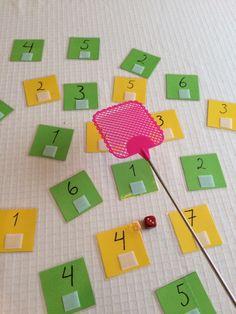 Tall- og mengdetrening – Språkhjerte Games For Kids, Activities For Kids, Preschool, Education, Children, Cards, Numeracy, Math, Day Care