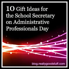 10 Gift Ideas for the Secretary