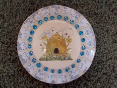 Mosaic Stepping Stone~Bee Hive
