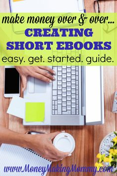 Getting paid over and over for doing something once is a great idea. Writing is one way. And how about making it super easy, by writing something short? Learn how you can make money over and over again publishing short ebooks. Learn from a succes Work From Home Jobs, Make Money From Home, Way To Make Money, How To Make, Money Fast, Writing A Book, Writing Tips, Writing Help, Creative Writing