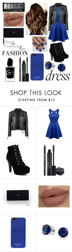 """""""Untitled #27"""" by abbie0987 ❤ liked on Polyvore featuring Boohoo, Chicnova Fashion, Rodial, Victoria's Secret, MICHAEL Michael Kors, Bling Jewelry and Giorgio Armani"""