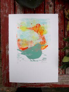 Sidse Friis Print Artfinder.com