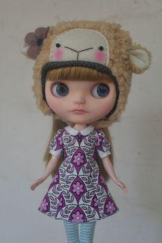 Blythe Dress 'Purple Floral' by joeykblythe on Etsy.