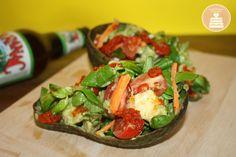 Insalata golosa di avocado e harissa - Delicious salad with avocado and harissa