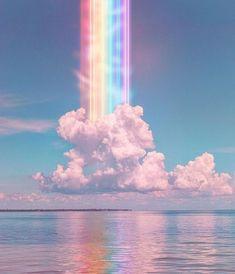 🌈 photo by · · · ·… Rainbow Wallpaper, Glitter Wallpaper, Purple Wallpaper, Aesthetic Pastel Wallpaper, Scenery Wallpaper, Aesthetic Backgrounds, Galaxy Wallpaper, Aesthetic Wallpapers, Rainbow Aesthetic