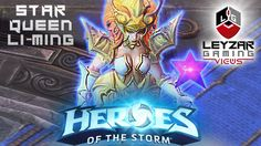 Heroes of the Storm (Gameplay) - Star Queen Li-Ming Skin (HotS Li Ming G...