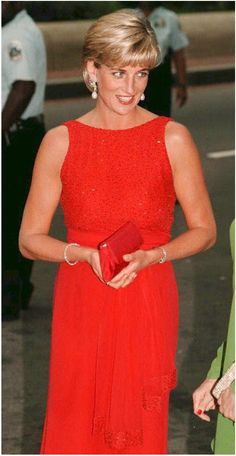 Pin for Later: 22 Timeless Photos of Princess Diana  Diana arrived at a gala at the Museum of Women in the Arts in Washington DC in June 1997.