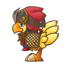 Chocobo Ninja from Final Fantasy Fables: Chocobo's Dungeon