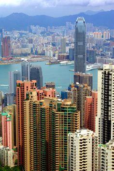 Victoria Harbour, Hong Kong.