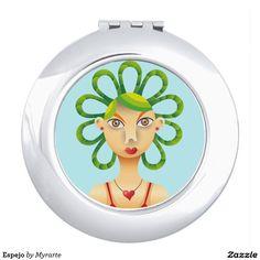 Espejo Makeup Mirror.  Producto disponible en tienda Zazzle. Product available in Zazzle store. Regalos, Gifts. Link to product: http://www.zazzle.com/espejo_makeup_mirror-256630360070970042?CMPN=shareicon&lang=en&social=true&rf=238167879144476949 #espejo #mirror