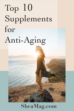 Even if we can't prevent aging from happening and no fountain of youth has been discovered yet, there are some supplements that experts trust to have age delaying properties that could be a part of your anti-aging routine. A key factor for aging is the free radicals that cause cellular damage and shortening of the telomeres, located at the end of chromosomes playing an important role in cellular division and aging. #anti-aging #supplements 10 Best Supplements for Anti-Aging – SheaMag Anti Aging Tips, Best Anti Aging, Anti Aging Cream, Anti Aging Skin Care, Anti Aging Supplements, Supplements For Women, Best Supplements, Face Care Routine, Fountain Of Youth