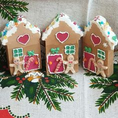 """Gingerbread House Soap 🍬🍫🍭 A """"sweet"""" house with charming embeds on it which is scented in the warm and appetizing smell of gingerbread… Sweet House, Handmade Soaps, Gingerbread, Design Inspiration, Warm, Color, Instagram, Layout Inspiration, Colour"""