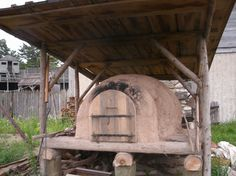 Baking in the 18th Century was performed in various types of earthen ovens
