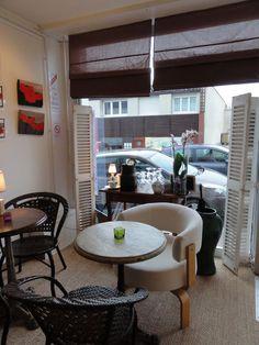 Le Chat Bleu, 6 rue du Roi Albert, Sainte Adresse. Horsehair, Blue Cats, Living Room