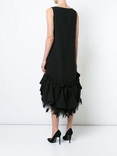 Huishan Zhang gathered peplum shift dress