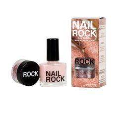 Nail Rock, $7.00 #birchbox. Navy velvet. January 2014