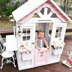 Trending on Project Nursery: Playhouse Makeover