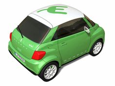 Syrena Nixi Typically urban auto receives electric drive. Its fully charged batteries are allowed to beat more than 150 km.