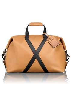 Santa Monica Bashford Leather Duffel