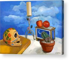 Still life with cactus Acrylic Print by Carmen Stanescu Kutzelnig. All acrylic prints are professionally printed, packaged, and shipped within 3 - 4 business days and delivered ready-to-hang on your wall. Thing 1, Framed Prints, Canvas Prints, Acrylic Sheets, Painting Still Life, Got Print, White Envelopes, Clear Acrylic, Be Still
