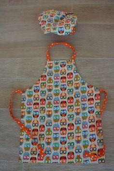 Tutorial kinder keukenschort, in het nederlands