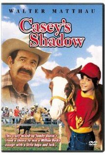 """Casey's Shadow - Walter Matthau, Alexis Smith & Robert Webber - Casey is a young boy in a family that trains racehorses. His best friend, a foal they call """"Casey's Shadow"""", looks to be a loser, but comes out a champion. Horse Racing Books, Horse Books, Movies To Watch, Good Movies, Funny Movies, Walter Matthau, Horse Movies, Alexis Smith, Mane Event"""