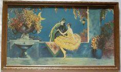 Reserved for Belle  1928 Art Deco Framed by EvenStephenAntiques