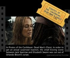 Movie Facts- Pirates of the Caribbean Dead Man's Chest