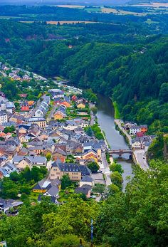 Vianden, Luxembourg - This quaint city in northeastern Luxembourg is a great option for a holiday in the country. Vianden has a long history dating back to medieval times. Today the city is full of great restaurants, attractions and other things to offer. (https://www.facebook.com/TravelingWarrior) #Luxembourg #attractions