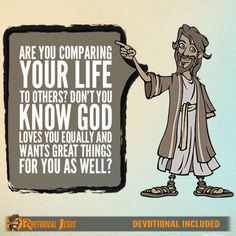 Check this out: Are you comparing your life to others? Don't you know God loves you equally and wants great things for you as well?. https://re.dwnld.me/87Xmb-are-you-comparing-your-life-to-others-don-t-you-know-god