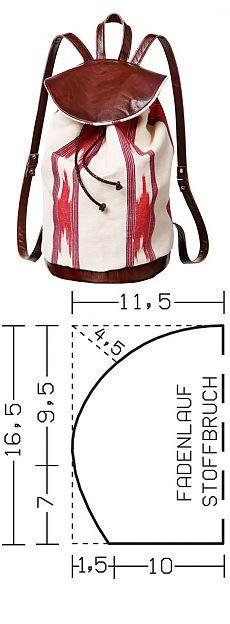 Backpack in oriental style / Workshops / Burdastyle