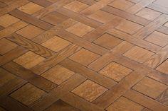 weave pattern parquet floor