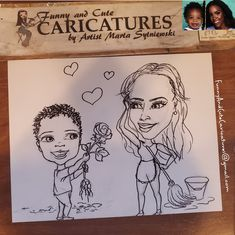 It could be yours and your child's face in this funny mothers day caricature portrait, to place your order call artist Marta Sytniewski at 773-574-7767 or email FunnyAndCuteCaricatures@gmail.com  #funnymothersday #Funnymothersdayportrait #funnymothersdaygift #funnymothersdaycaricature #funnymothersdaycartoon #funnymothersdayclipart #funnymothersdayart #MartaSytniewski #funnymothersdaygift Mothers Day Cartoon, Funny Mothers Day, Funny Caricatures, Child Face, A Funny, Funny Gifts, Your Child, Mother Day Gifts, Clip Art