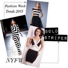 NYFW Inspiration | Bold Stripes <3 #edressme