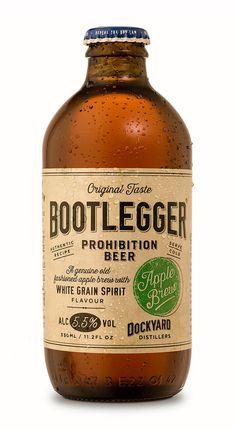 Bootlegger Apple Brew on Behance