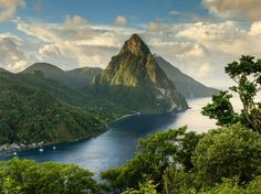 Nature doesn't get more photogenic than St. Lucia's Pitons, two mountainous volcano spires on the southern end of the island. Covered in lush rainforest and luxurious resorts, the Caribbean country is a popular honeymoon spot—and it's easy to see why. —J.S.