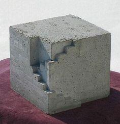 Hannes Kuehtreiber, concrete. http://www.makersgallery.com/concrete/gg-kuehtreiber.html