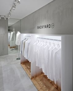 BACKYARD by|n store by Nendo, Yokohama   Japan home decor fashion design shop department store cosmetics art shop